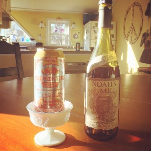 Clementine Gose +Bourbon