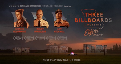 Three Billboards Outside Ebbing, Missouri + 3 Shots of Whiskey