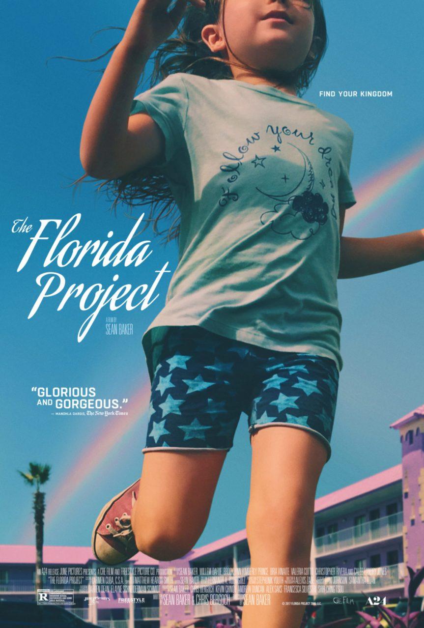The Florida Project + Orange Pineapple Strawberry Daiquiri